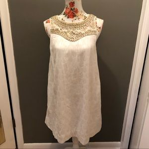 Maeve Grace Jeweled Swing Dress